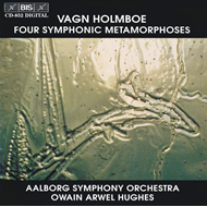 Produktbilde for Holmboe: (4) Symphonic Metamorphoses (CD)