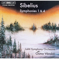Produktbilde for Sibelius: Symphonies Nos 1 & 4 (CD)