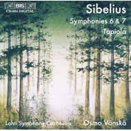 Produktbilde for Sibelius: Symphonies Nos 6 & 7 (CD)