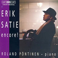 Produktbilde for Erik Satie encore! (CD)