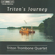 Produktbilde for Triton Trombone Quartet (CD)