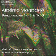 Produktbilde for Magnard: Symphonies Nos 1 & 3 (CD)