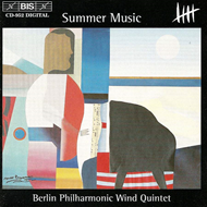 Produktbilde for Summer Music - Berlin Philharmonic Wind Quintet (CD)