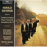 Produktbilde for Sæverud: Piano Concerto; Symphony No 9; Fanfare and Hymn (CD)