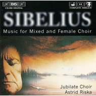 Produktbilde for Sibelius: Works for Mixed and Female Choir (CD)