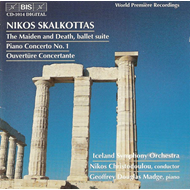 Produktbilde for Skalkottas: The Maiden and Death; Piano Concerto No. 1 (CD)