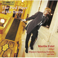 Produktbilde for Martin Frost - The Pied Piper of the Opera (CD)