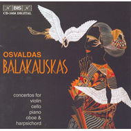 Produktbilde for Balakauskas: Concertos (CD)