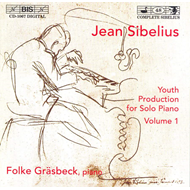 Produktbilde for Sibelius: Complete Youth Production for Piano Vol. 1 (CD)