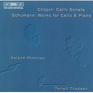 Produktbilde for Chopin/Schumann: Works for Cello and Piano (CD)