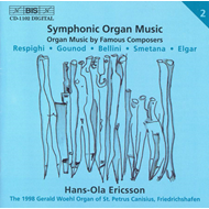 Produktbilde for Hans-Ola Ericsson - Symphonic Organ Music (CD)