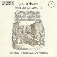 Produktbilde for Haydn: Esterházy Sonatas, Vol 2 (CD)