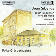 Produktbilde for Sibelius Youth Production for Solo Piano, Vol 2 (CD)