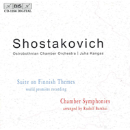 Produktbilde for Shostakovich: Chamber Symphonies; Suite on Finnish Themes (CD)