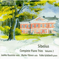 Produktbilde for Sibelius: Complete Piano Trios, Vol 2 (CD)