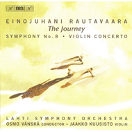 Produktbilde for Rautavaara: Violin Concerto; Symphony No 8, 'The Journey' (CD)