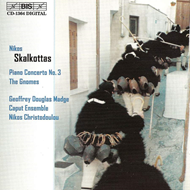 Produktbilde for Skalkottas: Concerto No 3 for Piano and Ten Wind Instruments; The Gnomes (CD)