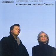 Produktbilde for Schoenberg: Complete Works for Violin and Piano (CD)