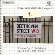 Produktbilde for Beethoven: Complete Works for Solo Piano, Vol 1 (SACD)