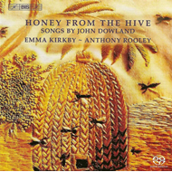 Produktbilde for Dowland: Honey from the Hive (SACD)