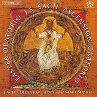 Produktbilde for Bach: Easter and Ascension Oratorios (SACD)