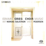 Produktbilde for Grieg: Choir Music (SACD)