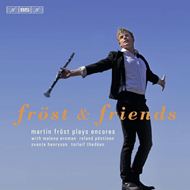Produktbilde for Martin Fröst - Fröst & Friends: Martin Fröst Plays Encores (CD)