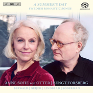 Produktbilde for Anne Sofie Von Otter - A Summer's Day - Swedish Romantic Songs (SACD-Hybrid)