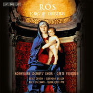 Produktbilde for Det Norske Solistkor - Rós - Songs Of Christmas (SACD-Hybrid)