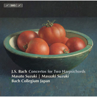 Produktbilde for Bach J.S: Concertos For Two Harpsichords (SACD-Hybrid)