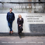 Produktbilde for Carolyn Sampson & Iestyn Davies - Lost Is My Quiet: Duets And Solo Songs (SACD-Hybrid)