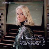 Produktbilde for Anne Sofie Von Otter - A Simple Song (SACD-Hybrid)
