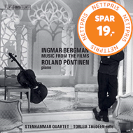 Produktbilde for Ingmar Bergman – Music From The Films (SACD-Hybrid)