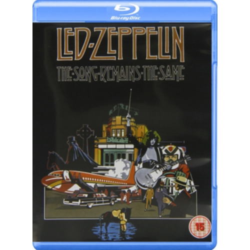 Led Zeppelin - The Song Remains The Same (UK-import) (BLU-RAY)