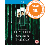 Produktbilde for The Matrix Collection (UK-import) (BLU-RAY)