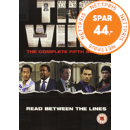 Produktbilde for The Wire - Sesong 5 (UK-import) (DVD)