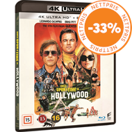 Produktbilde for Once Upon A Time In Hollywood (4K Ultra HD + Blu-ray)