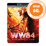 Produktbilde for Wonder Woman 1984 (Wonder Woman 2) - Limited Steelbook Edition (4K Ultra HD + Blu-ray)