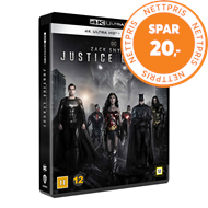 Produktbilde for Zack Snyder's Justice League (4K Ultra HD + Blu-ray)