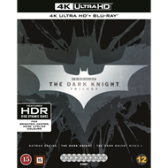 Produktbilde for Batman - The Dark Knight Trilogy (4K Ultra HD + Blu-ray)