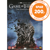 Produktbilde for Game Of Thrones - Sesong 1 - 8 (DVD)