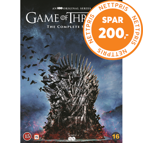 Game Of Thrones - Sesong 1 - 8 (DVD)