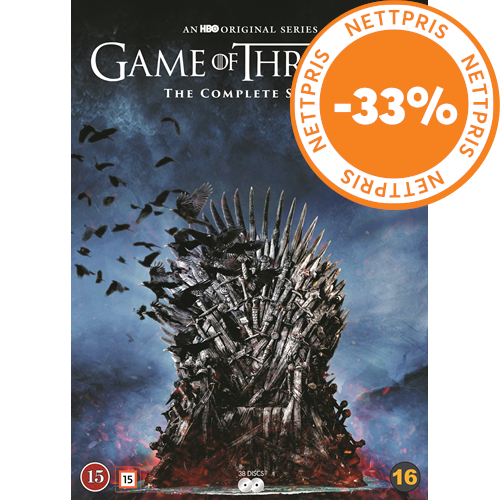 Game Of Thrones - Sesong 1-8 (DVD)
