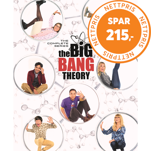 The Big Bang Theory - Sesong 1-12 - The Complete Series (DVD)