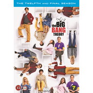 Produktbilde for The Big Bang Theory - Sesong 12 (DVD)