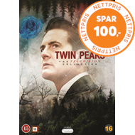 Produktbilde for Twin Peaks - Sesong 1-3: The Complete Series (DVD)