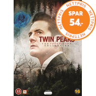 Produktbilde for Twin Peaks - Sesong 1-3 (DVD)
