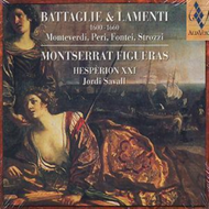 Produktbilde for Battaglie and Lamenti, 1600-60 (CD)