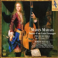 Produktbilde for Marais: Suite in a Foreign Style (SACD)