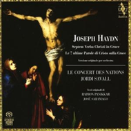 Produktbilde for Haydn: The Seven Last Words (1785 Orchestral version) [SACD] (CD)